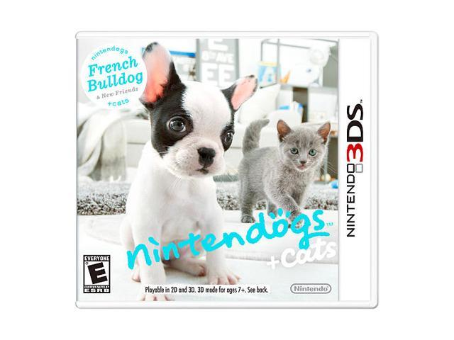 Nintendogs + Cats: French Bulldog and New Friends 3DS Nintendo 3DS Game