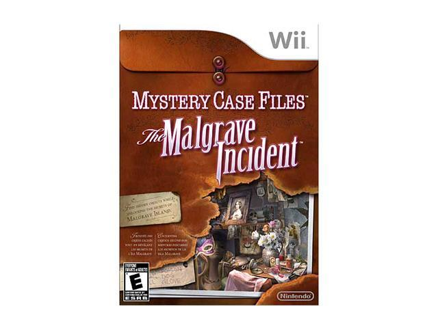 Mystery Case Files: Malgrave Incident Wii Game
