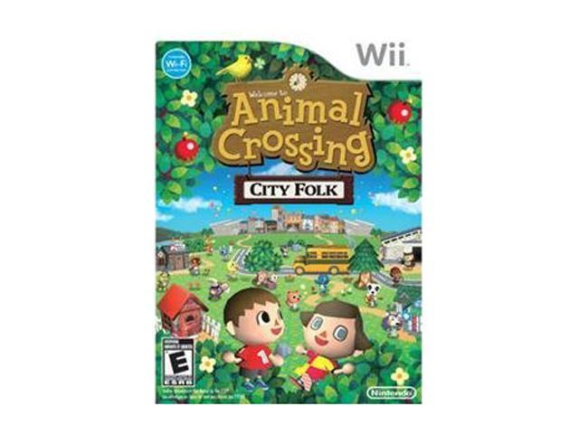 Animal Crossing: City Folk Wii Game