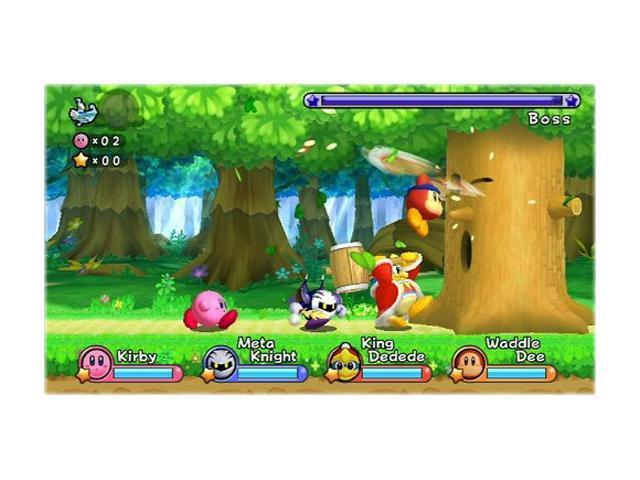 Kirby's Return to Dream Land Wii Game Nintendo