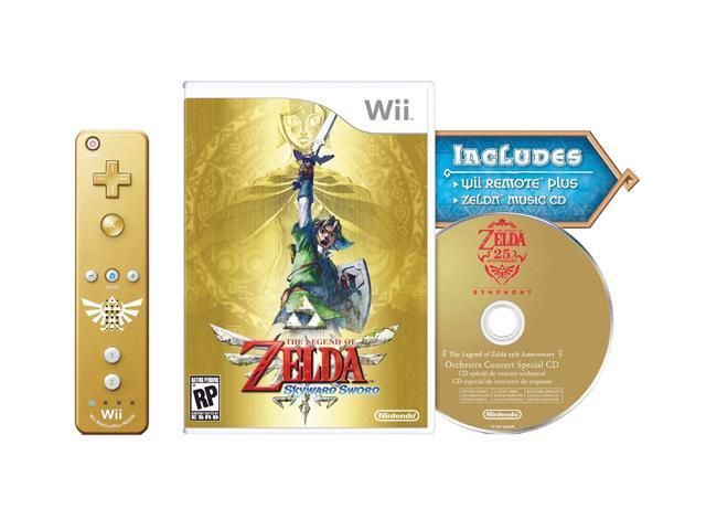 Legend of Zelda: Skyward Sword Bundle Wii Game