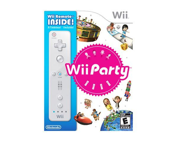 Wii Party with Remote Wii Game