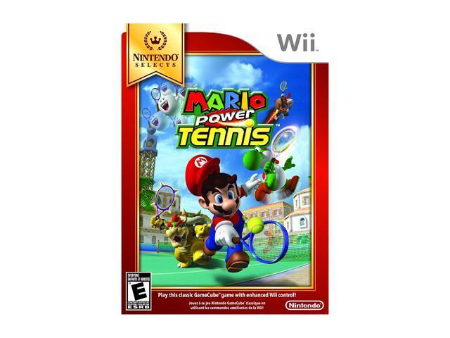 Mario Power Tennis Wii Game