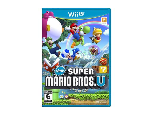 New Super Mario Bros. U Wii U Games