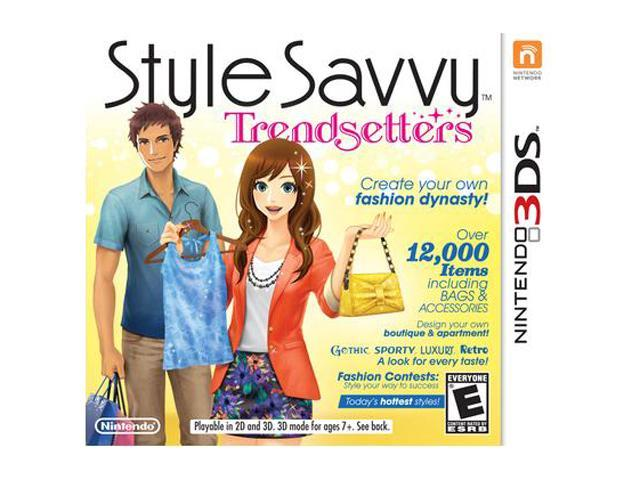 Style Savvy: Trendsetters Nintendo 3DS