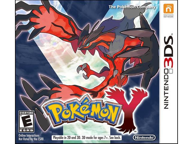 Pokemon Y Nintendo 3DS Game