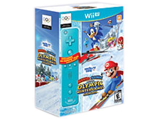 MARIO & SONIC SOCHI W/BLUE REMOTE - WIIU Wii U