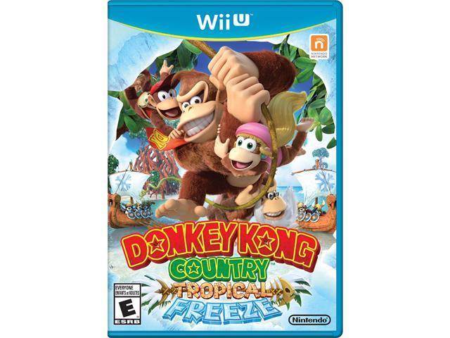 Donkey Kong Country: Tropical Freeze Wii U Nintendo