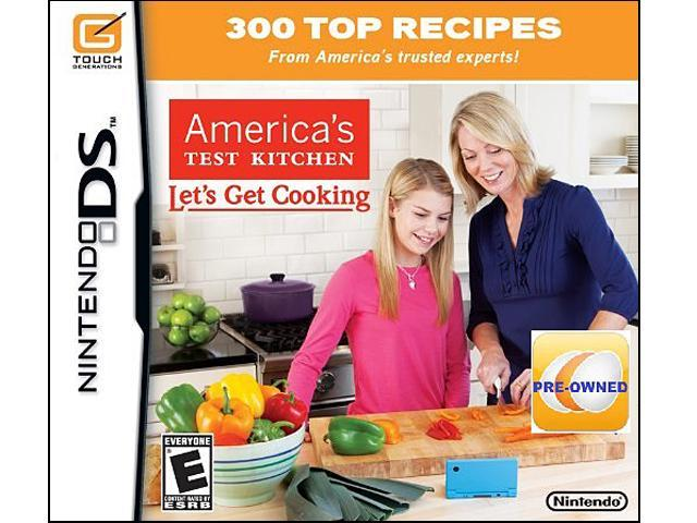 PRE-OWNED America's Test Kitchen: Let's Get Cooking  DS