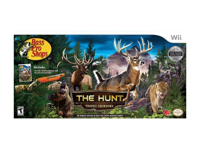 Bass Pro Shops: The Hunt Trophy Showdown Bundle Wii Game