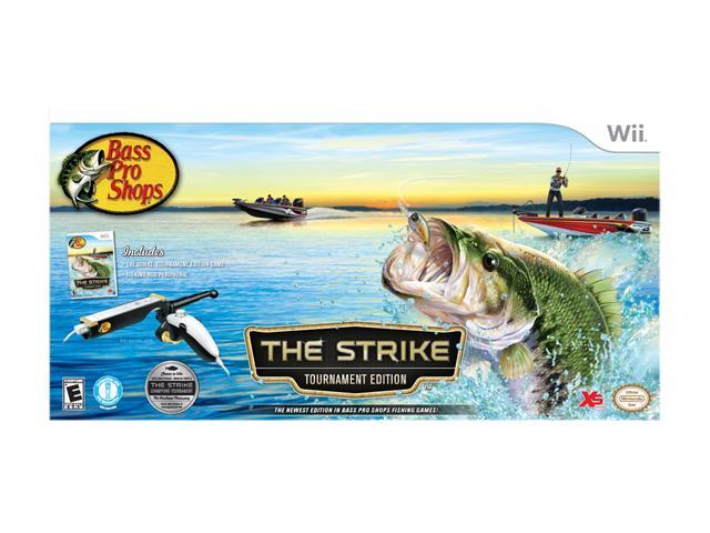 Bass Pro Shops: The Strike Tournament Edition Bundle Wii Game