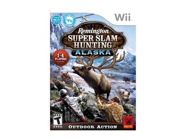 Remington Super Slam Hunting Alaska Wii Game