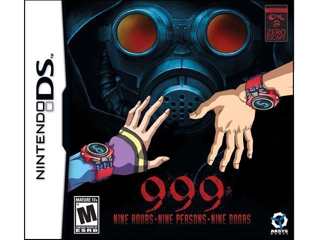 999: 9 Hours, 9 People, 9 Doors Nintendo DS Game AKSYS GAMES