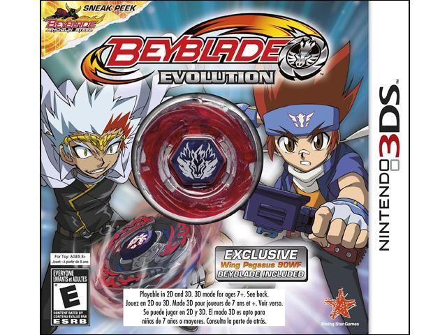 BEYBLADE: Evolution Collector's Edition w/ Wing Pegasus Nintendo 3DS