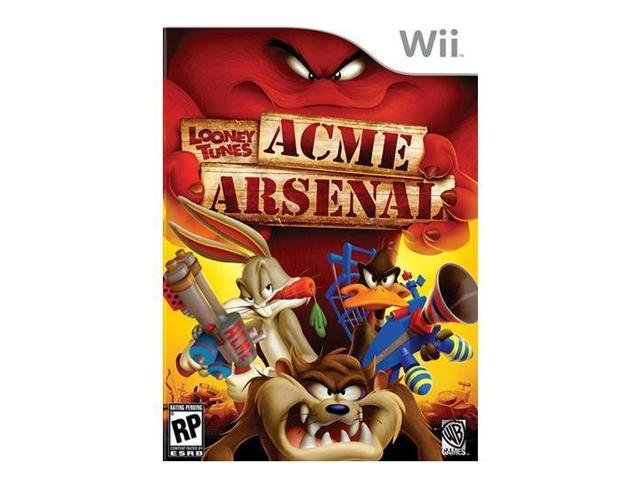 Looney Tunes: Acme Arsenal Wii Game