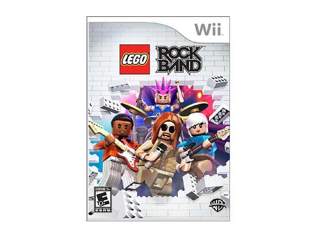 Lego Rock Band Wii Game