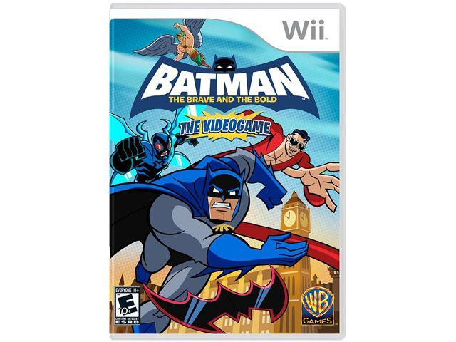 Batman: The Brave & The Bold Wii Game