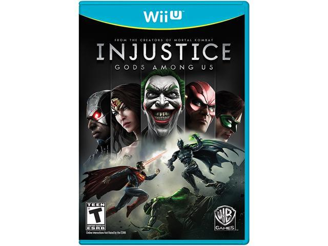 Injustice: Gods Among Us Wii U Games