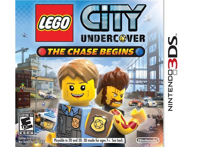 Lego City Undercover: The chase begins Nintendo 3DS Game