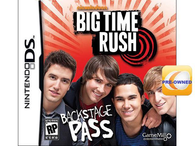 Pre-owned Big Time Rush Backstage Pass  DS