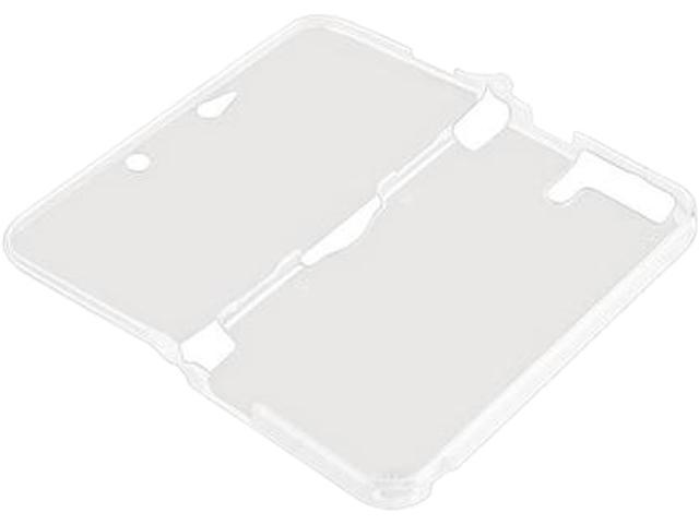 INSTEN Clear Rubber TPU Soft Silicone Gel Game Protective Skin Case Cover for Nintendo 3DS XL / LL