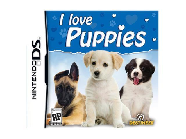 I love Puppies Nintendo DS Game