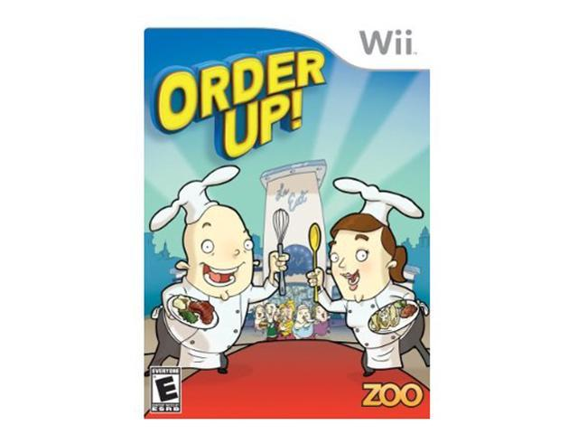 Order Up Wii Game Zoo Games