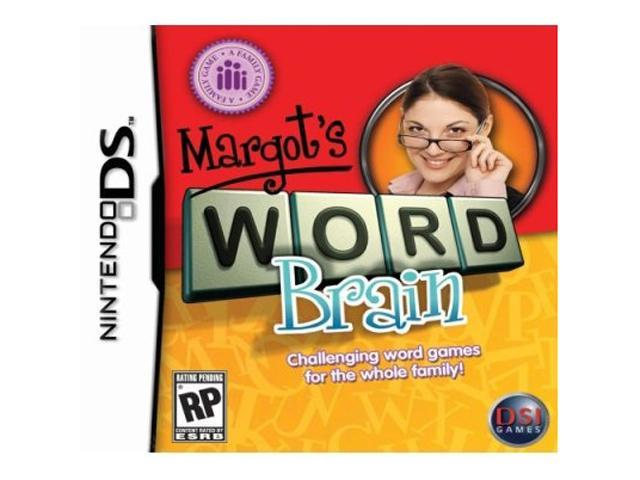 Margot's Word Brain Nintendo DS Game ZOO
