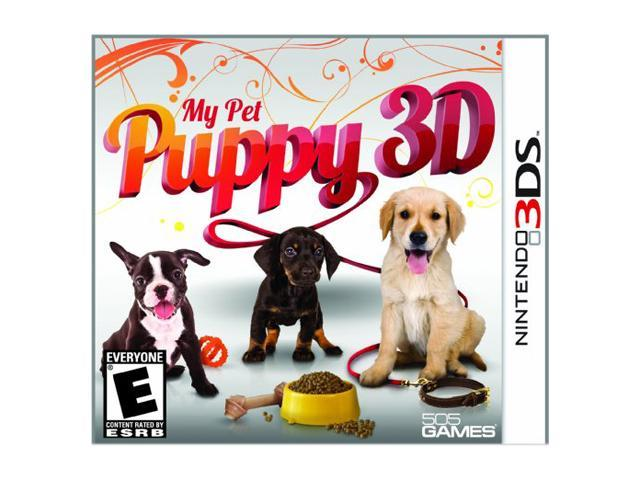 My Pet Puppy 3D Nintendo 3DS Game
