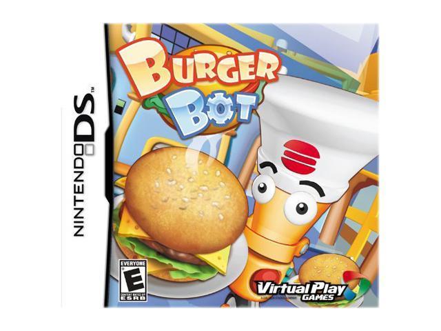 Burger Bot Nintendo DS Game