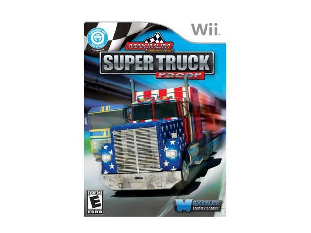 Maximum Racing: Super Truck Racer Wii Game