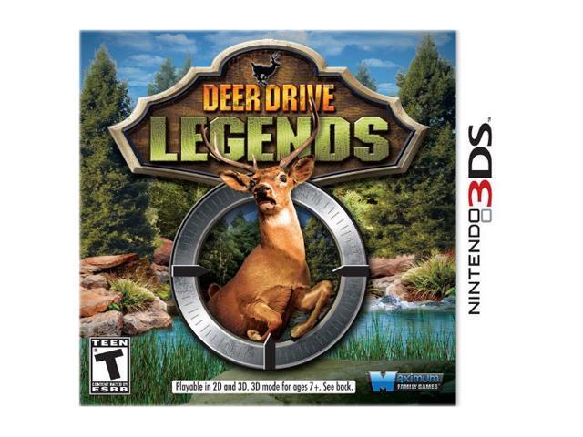 Deer Drive Legends Nintendo 3DS Game