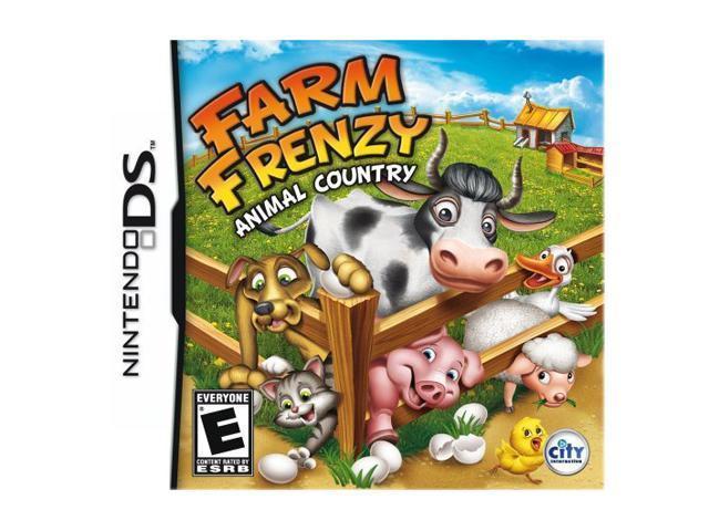 Farm Frenzy: Animal Country Nintendo DS Game