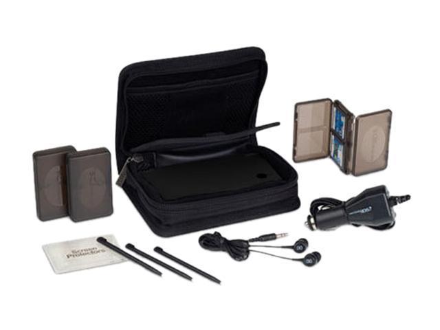 Power A Folio Starter Kit For Nintendo DSi Black