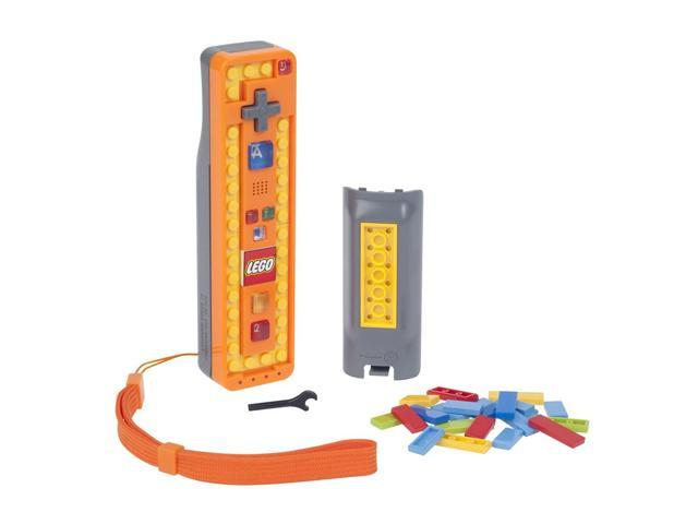 Power A Wii LEGO Play and Build Remote Orange/Gray