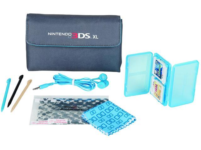 Power A Blue 3DS XL Starter Kit for Nintendo 3DS
