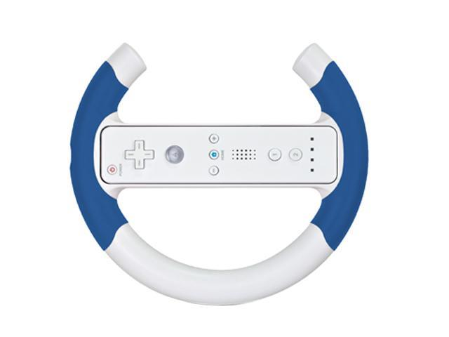 dreamGEAR Nintendo Wii Micro Wheel Blue