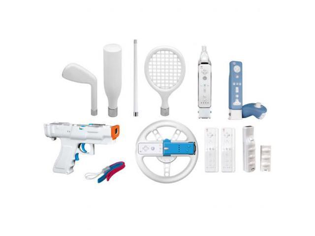 dreamGEAR 15 In 1 Player's Kit PLUS for Wii