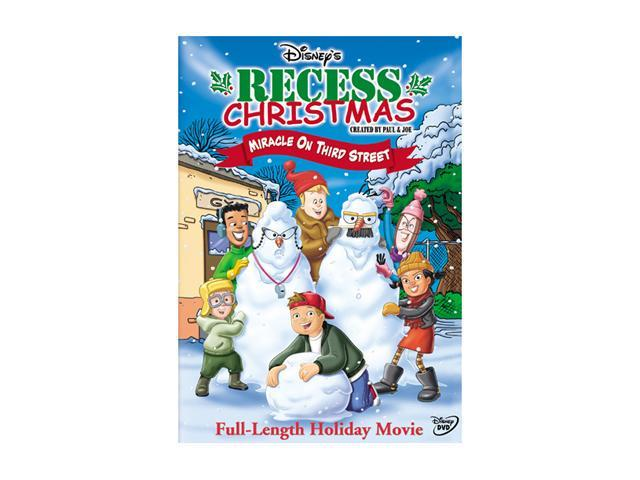 Recess Christmas - Miracle on Third Street (2001 / DVD) Andrew Lawrence, Rickey D'Shon Collins, Jason Davis, Ashley Johnson, ...