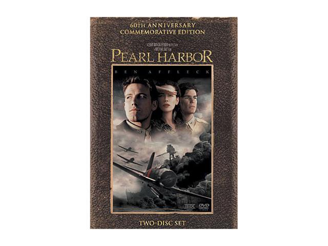 Pearl Harbor-60th Anniversary Commemorative Edition(2 DVD / 2.35 ANAM / DD5.1 / DTS) Ben Affleck; Josh Hartnett; Kate Beckinsale; Cuba Gooding, Jr.; Tom Sizemore; Jon Voight; Alec Baldwin; Colm Feore;