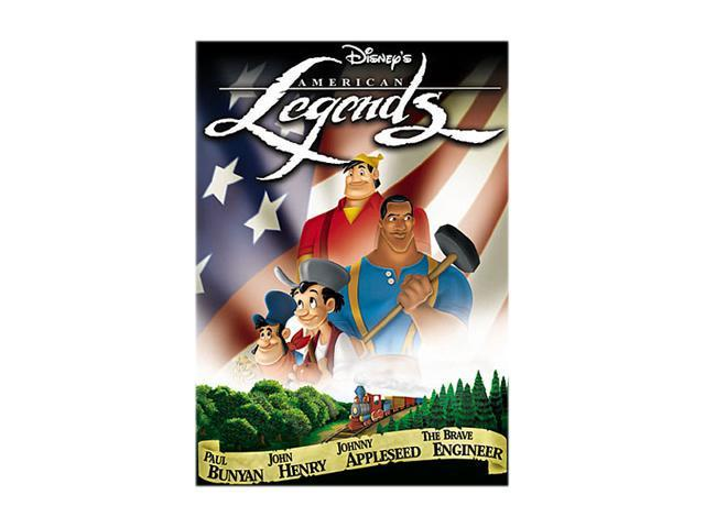 American Legends (1958 / DVD) Jerry Colonna, Ken Darby, Jon Dodson, The King's Men, Bud Linn