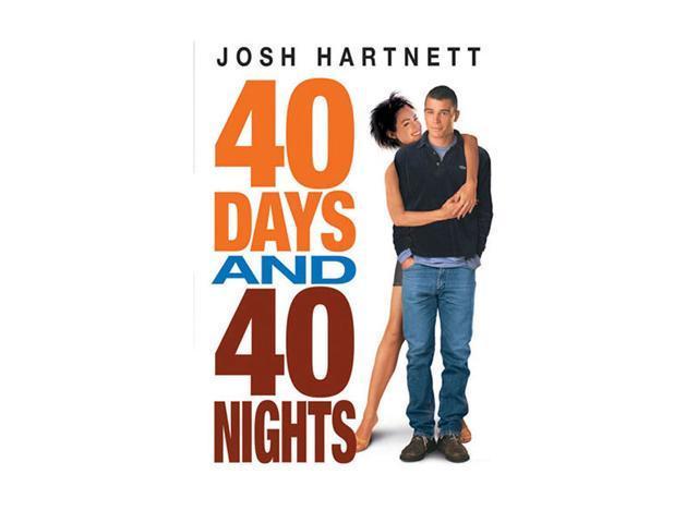 40 Days and 40 Nights (2002 / DVD) - Josh Hartnett, Shannyn Sossamon, Paulo Costanzo, Maggie Gyllenhaal, Emmanuelle Vaugier