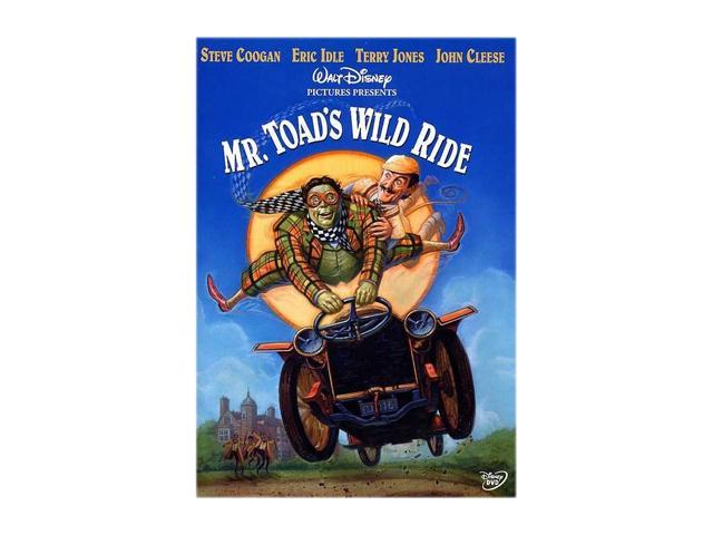 Mr. Toad's Wild Ride (1997 / DVD) Roger Ashton-Griffiths, Robert Bathurst, Hugo Blick, John Boswall, Keith-Lee Castle