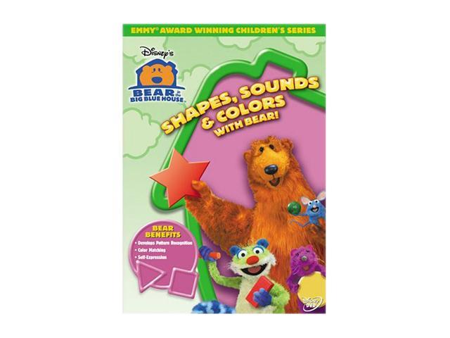Bear in the Big Blue House: Shapes, Sounds & Colors With Bear! (1997) / DVD Lynne Thigpen, Noel MacNeal, Vicki Eibner, Tyler Bunch, Peter Linz