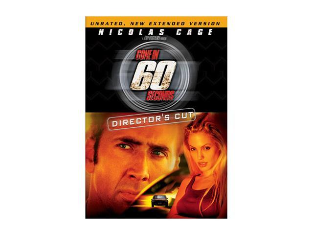 Gone In 60 Seconds (Director's Cut / DVD / ENG / FREN) Nicolas Cage; Angelina Jolie; Giovanni Ribisi; Robert Duvall; Vinnie Jones; Delroy Lindo; Will Patton; Chi McBride; Scott Caan; Christopher Eccle