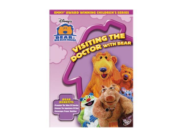 Bear in the Big Blue House - Visiting The Doctor With Bear (1997) / DVD Lynne Thigpen, Noel MacNeal, Vicki Eibner, Tyler Bunch, Peter Linz