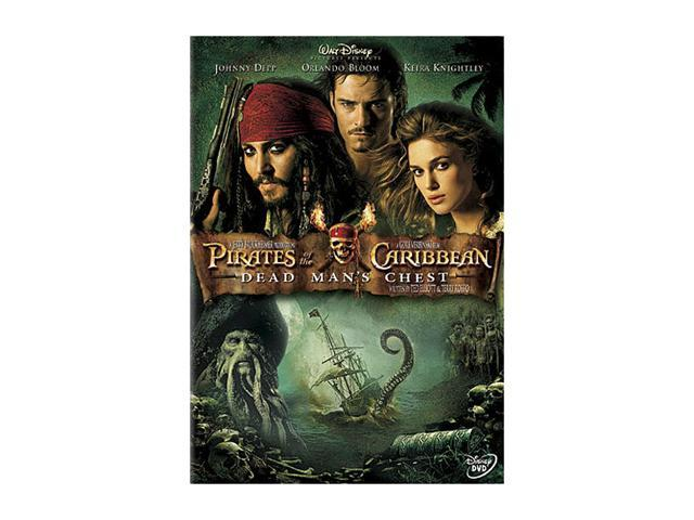 Pirates of the Caribbean - Dead Man's Chest(DVD / WS / DD 5.1 / FR-SP-Both) Johnny Depp; Orlando Bloom; Keira Knightley; Naomie Harris; Bill Nighy; Stellan Skarsgard; Jonathan Pryce; Jack Davenport; V