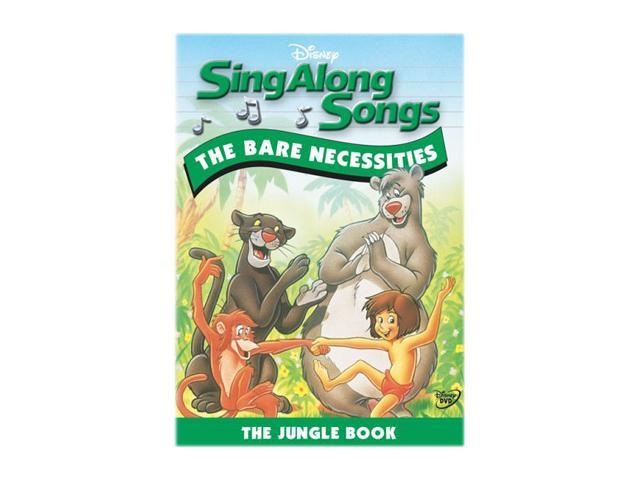 Sing-Along Songs - The Bare Necessities (1994 / DVD)
