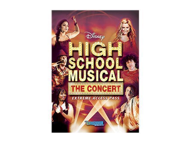 High School Musical: The Concert - Extreme Access Pass  (DVD / Full Screen ) Vanessa Hudgens, Ashley Tisdale, Lucas Grabeel, ...