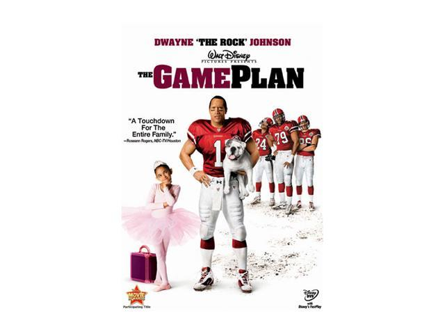 The Game Plan(DVD / FF 1.33 / DD 5.1 / SP-FR-Both) Dwayne 'The Rock' Johnson; Kyra Sedgwick; Madison Pettis; Morris Chestnut; Roselyn Sanchez; Paige Turco; Brian White; Hayes MacArthur; Christine Laki